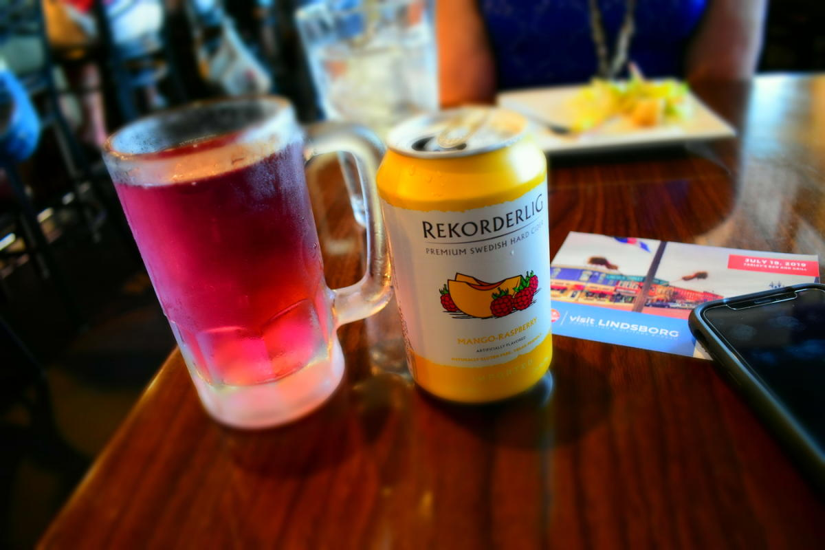 Can of Farley's Swedish Hard Cider in Lindsborg, KS