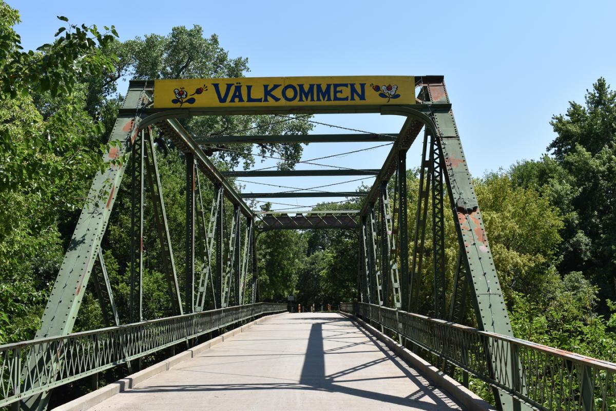 Valkomen Bridge Lindsborg, KS