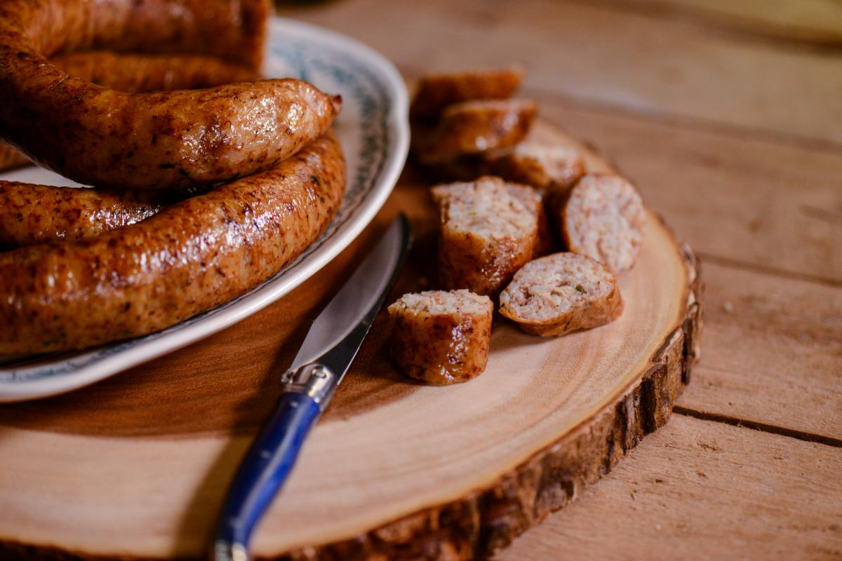 Boudin compliments any meal.