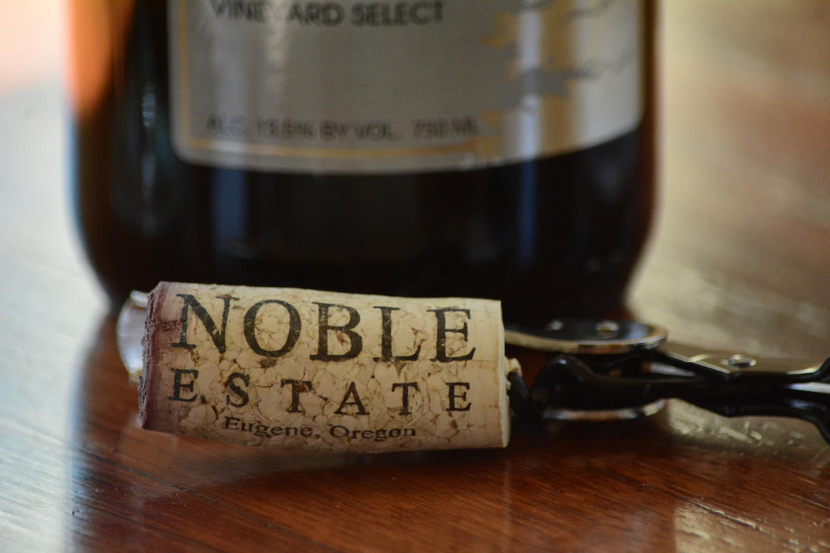 Noble Estate Vineyard and Winery by Colin Morton