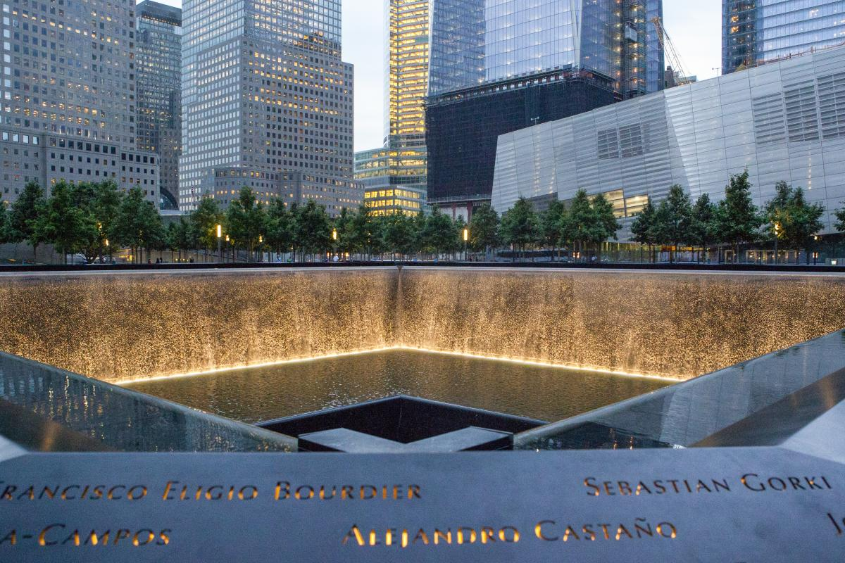 9-11 Memorial, Lower Manhattan, nyc, Marley White