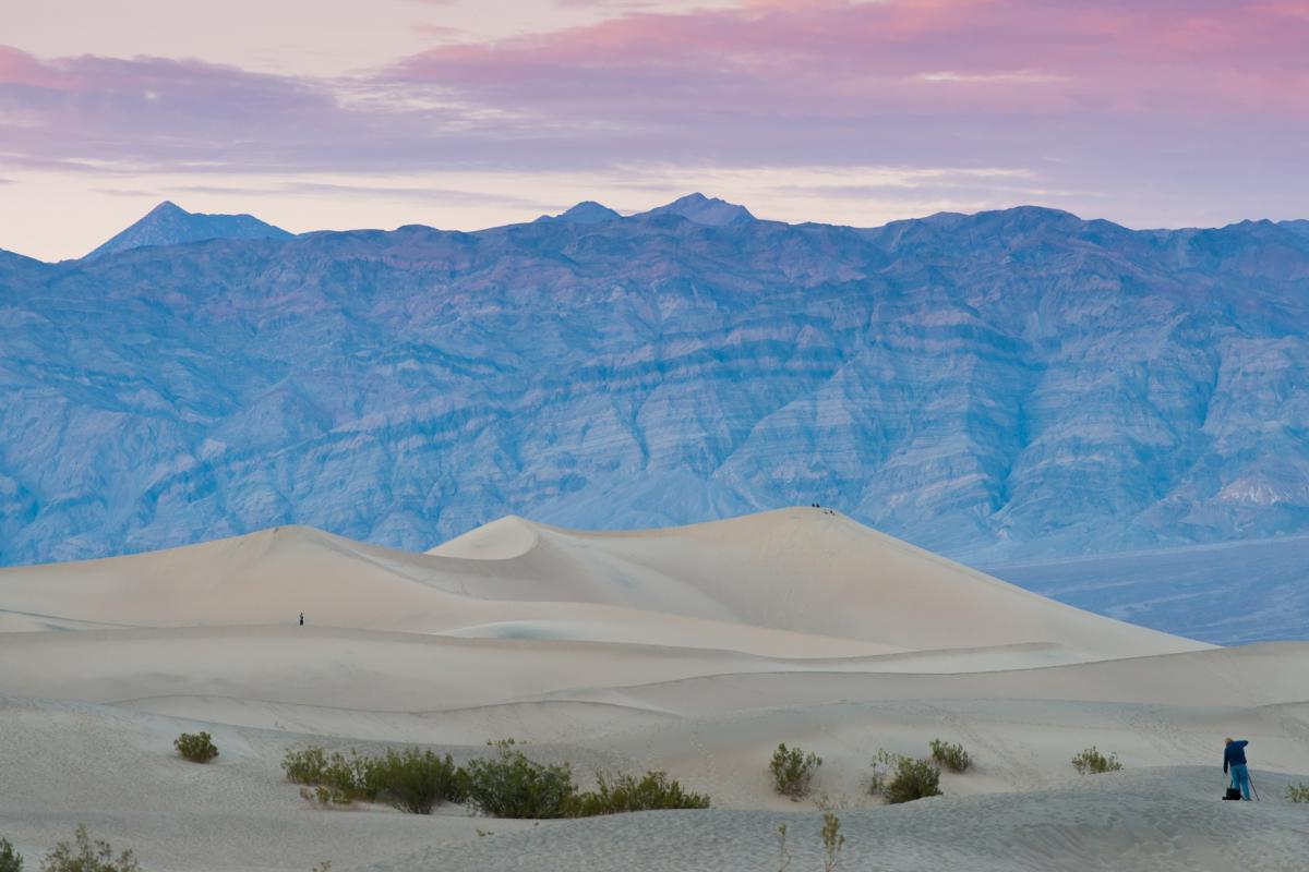 Death Valley early morning