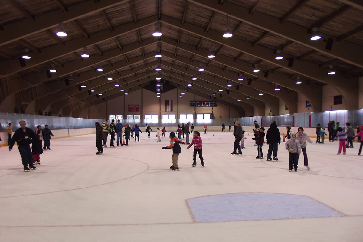 Mercer County ice skating rink
