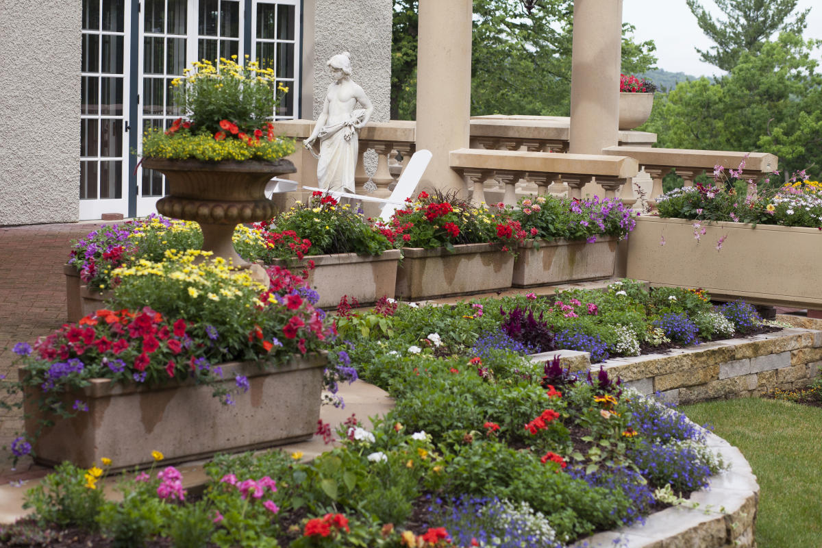 Gardens at Mayowood Mansion in Rochester MN