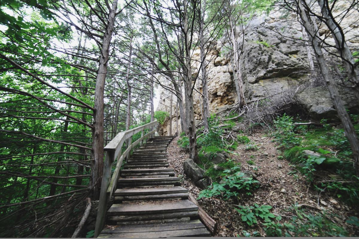 Whitewater State Park in Minnesota
