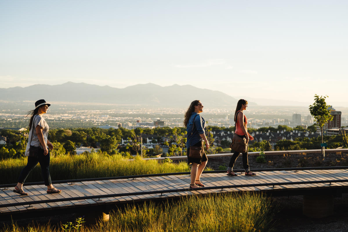 Walk Above Salt Lake at Red Butte Garden