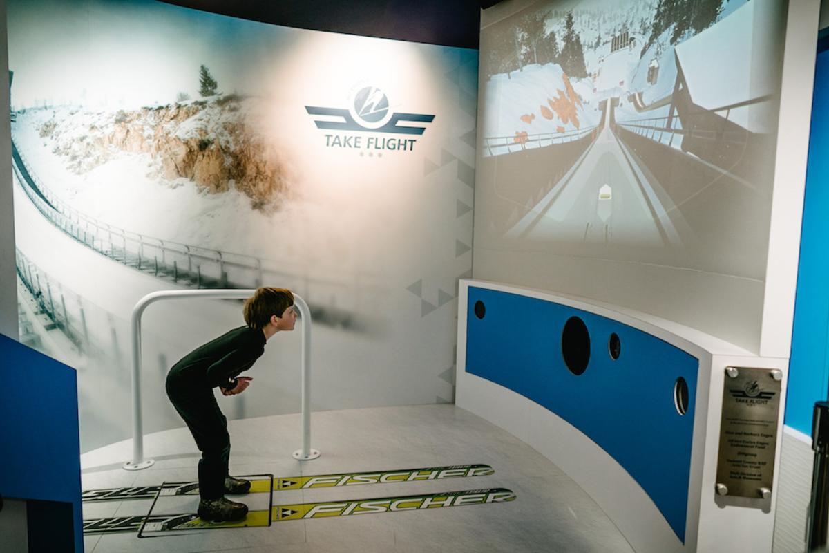 Future Ski Jumpers can take flight at utah olympic park