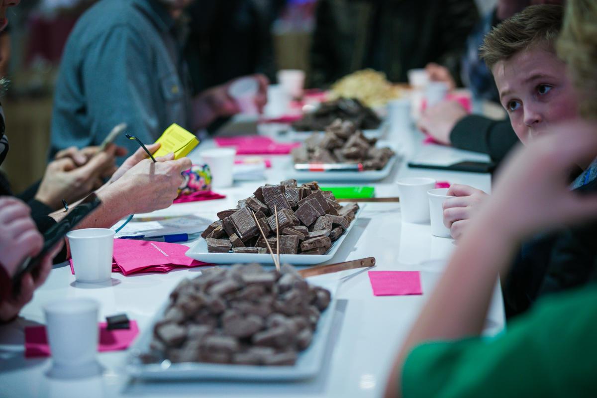 Seattle Chocolates Tasting