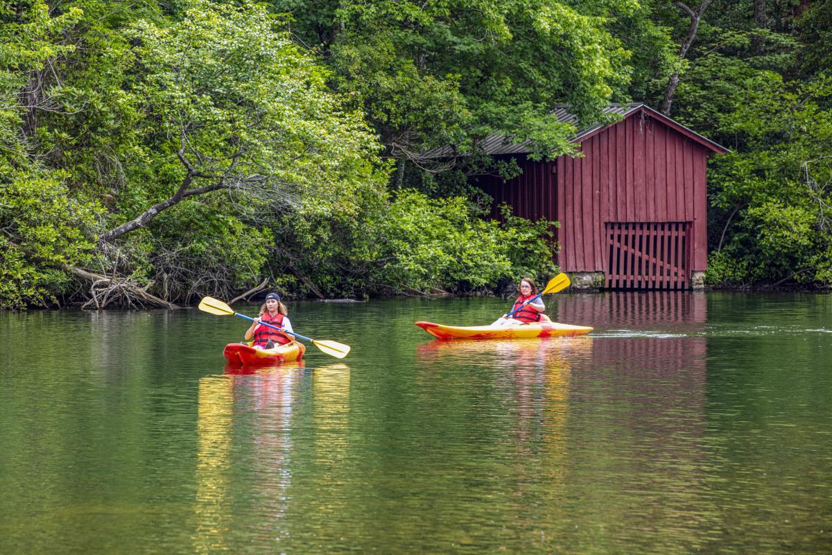 Kayaking DeSoto State Park