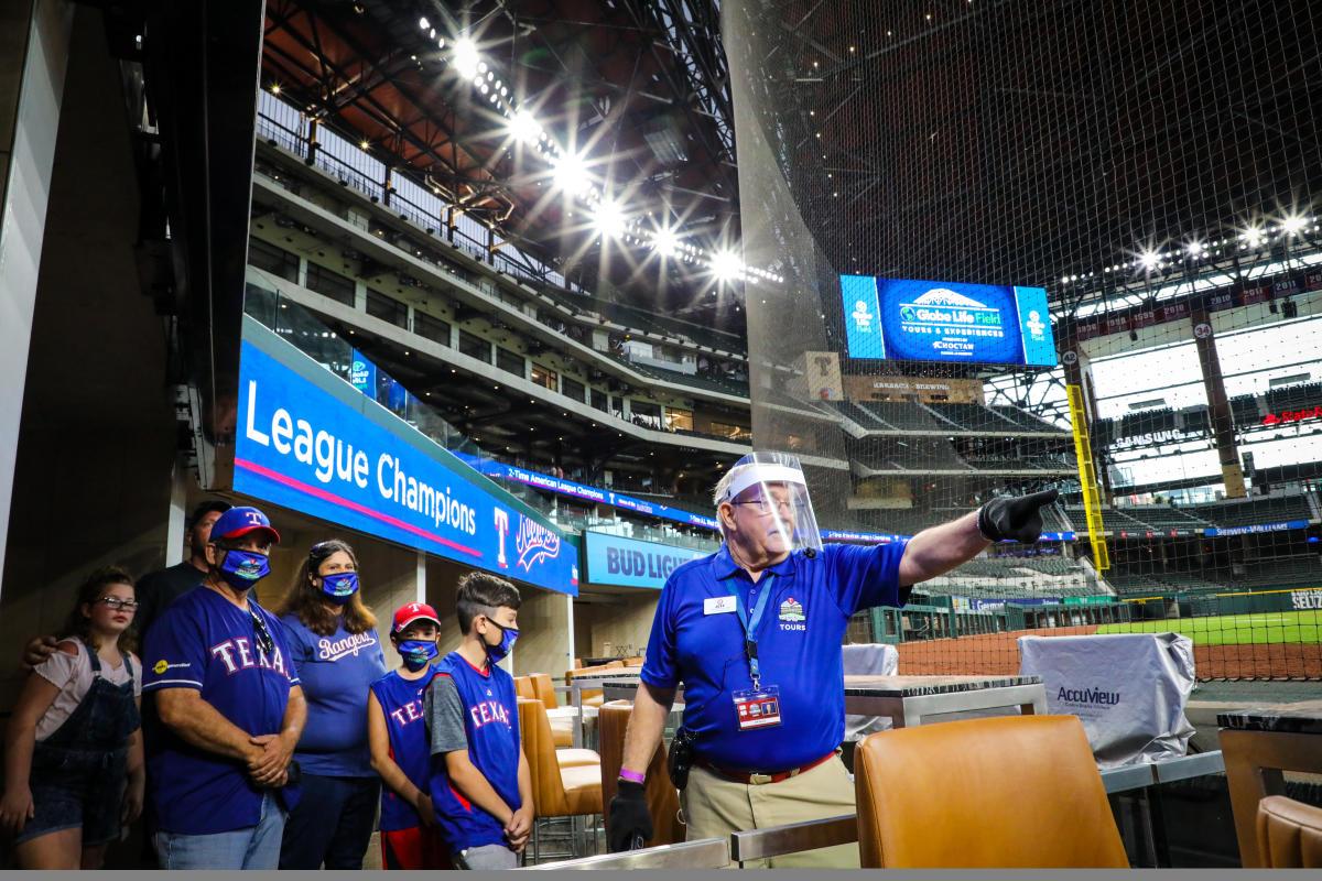 Texas Rangers - Globe Life Field Tour
