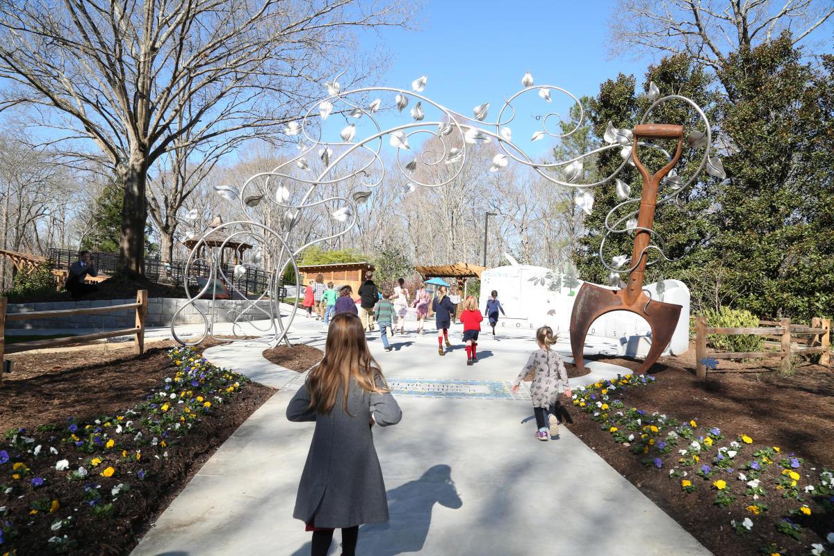 Children's Garden Gate State Botanical Garden of Georgia