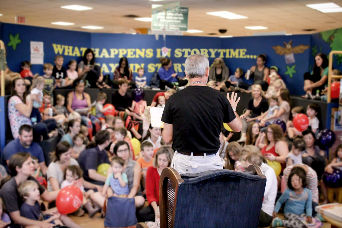 Storytime at BookPeople in austin texas