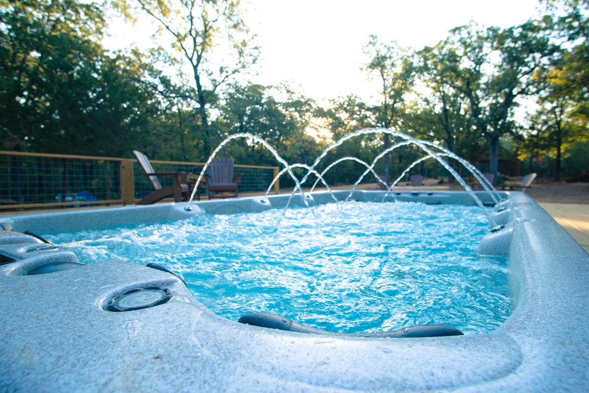 The Reserve at Greenleaf Hot Tub in Bastrop