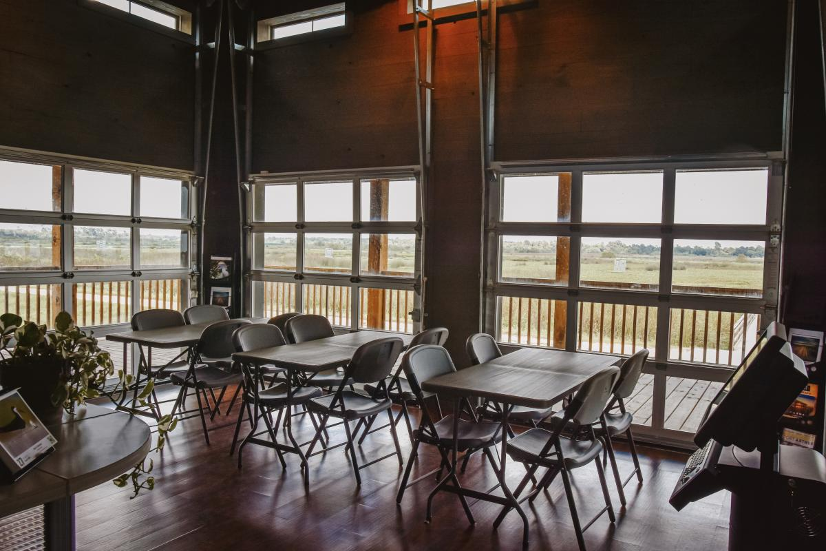 Cattail Marsh Wetlands Education Center Classroom Interior