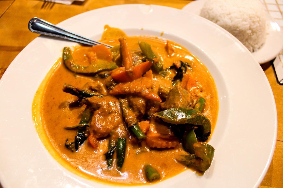 Chon Thai, Beef Panang Curry