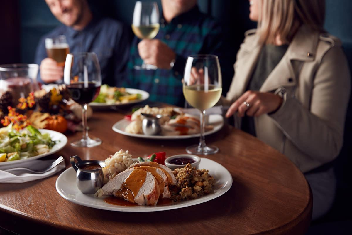 Thanksgiving Dinner at The Keg Steakhouse + Bar in Chandler, AZ