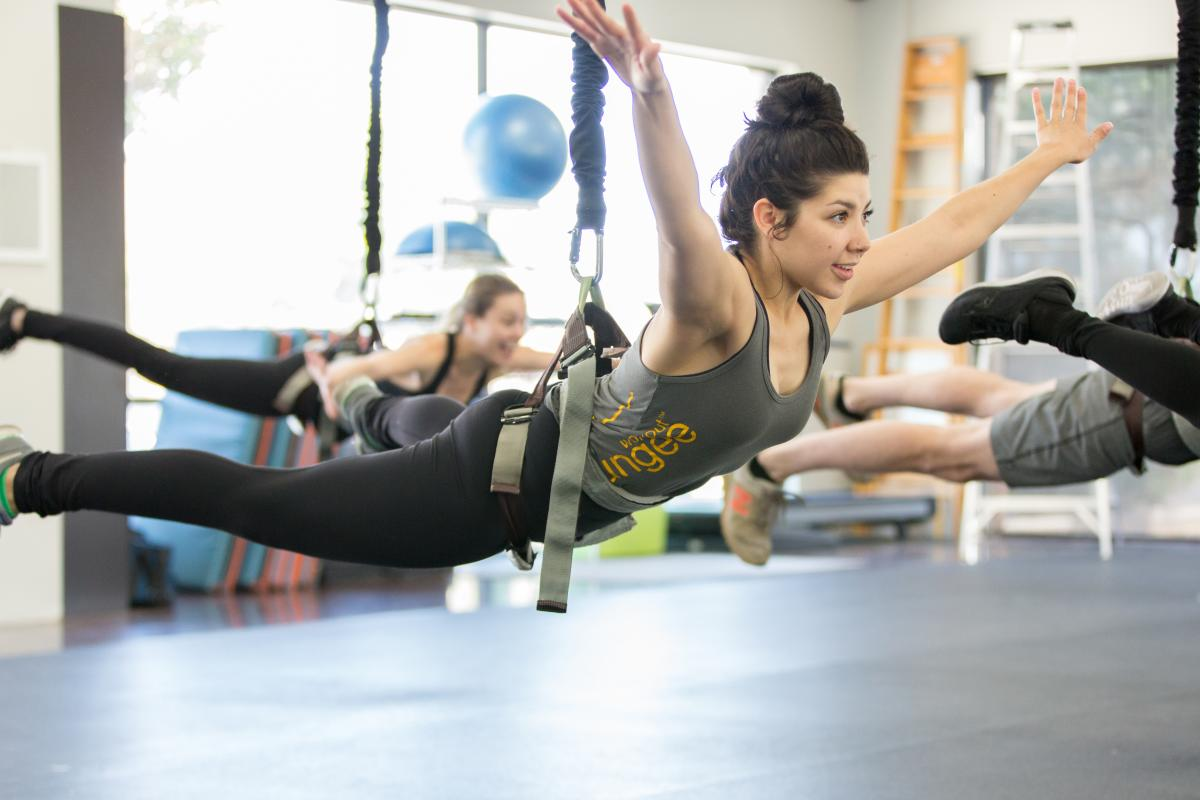 Tough Lotus - aerial fitness classes