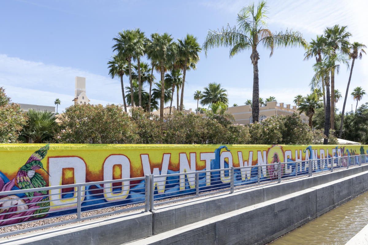 Commonwealth Mural - Downtown Chandler