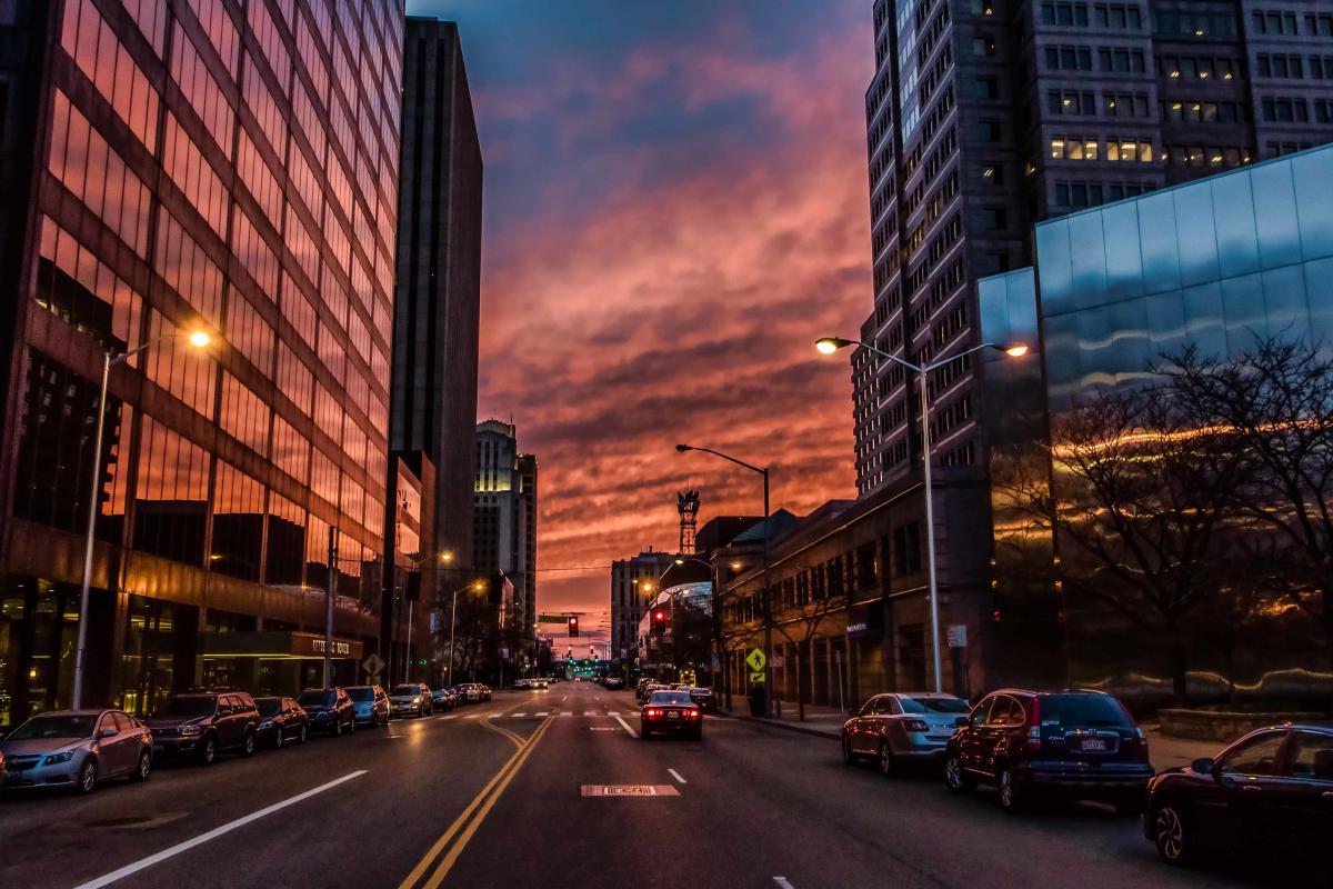 Downtown Dayton Zoom-bill franz