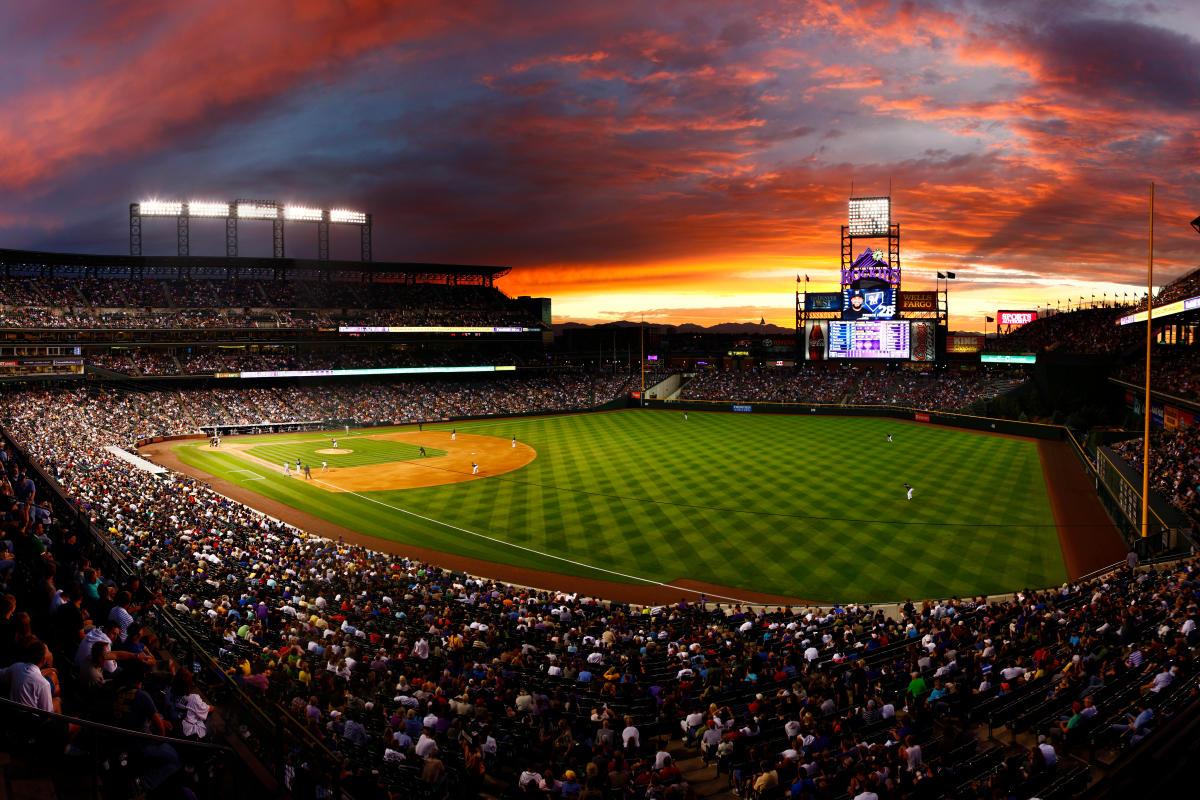 Colorado Rockies Baseball Game