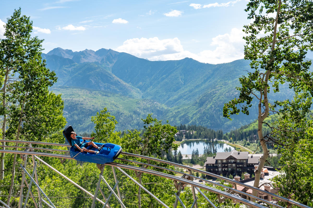 Purgatory Inferno Mountain Coaster, Durango, CO