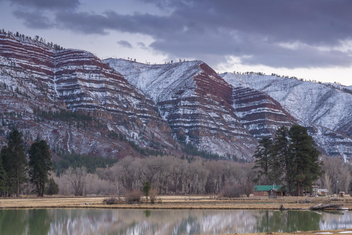 Red Mountain Sunrise, Durango, CO