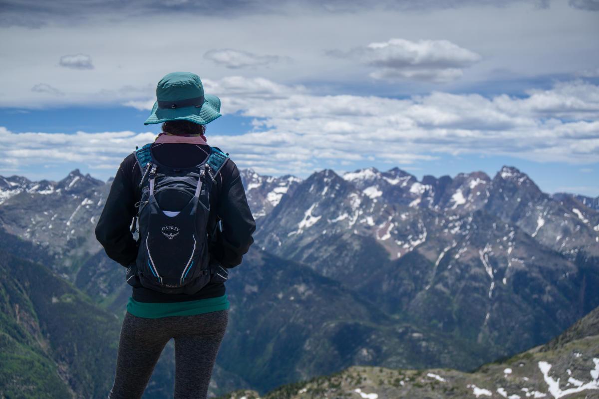 Hike and Summit 14er, Mt. Eolus, Durango, CO