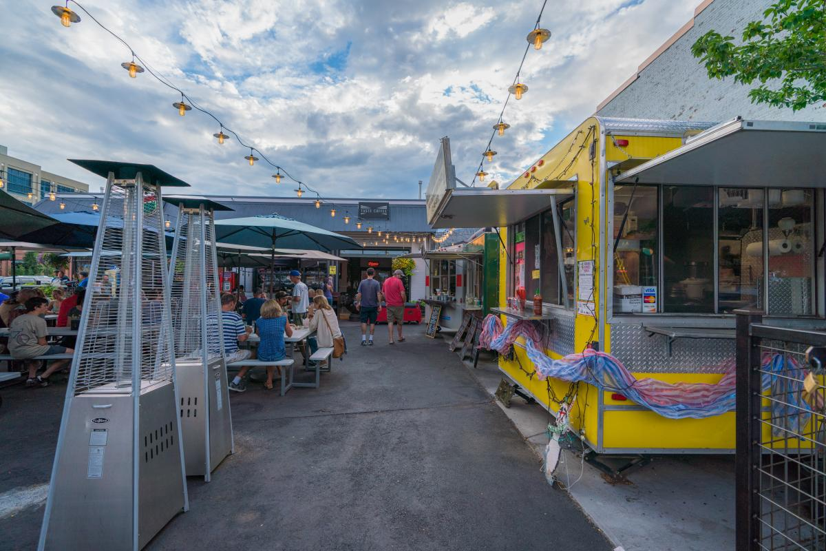 Food Trucks at 11th Street Station Durango, CO