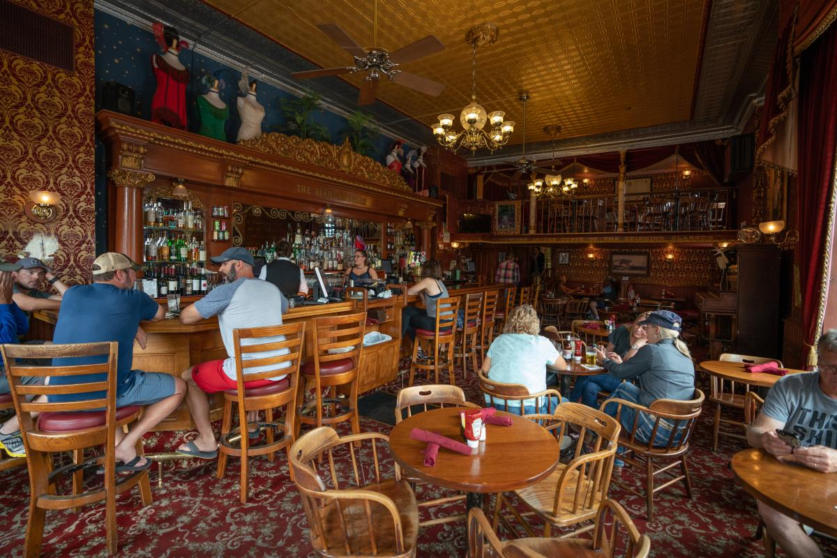 Diamond Belle Saloon, Strater Hotel, Durango, CO