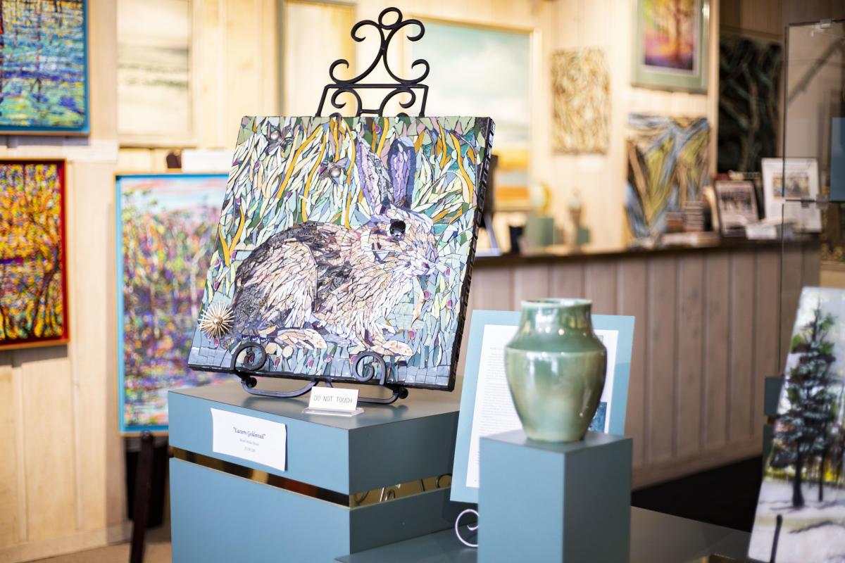 Art on display at B-Framed Art Gallery