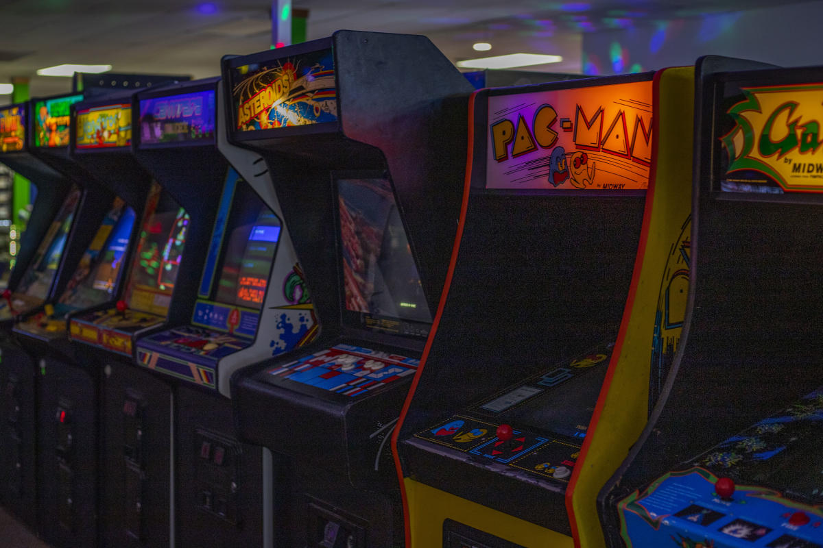 Arcade games at Eau Claire Games & Arcade