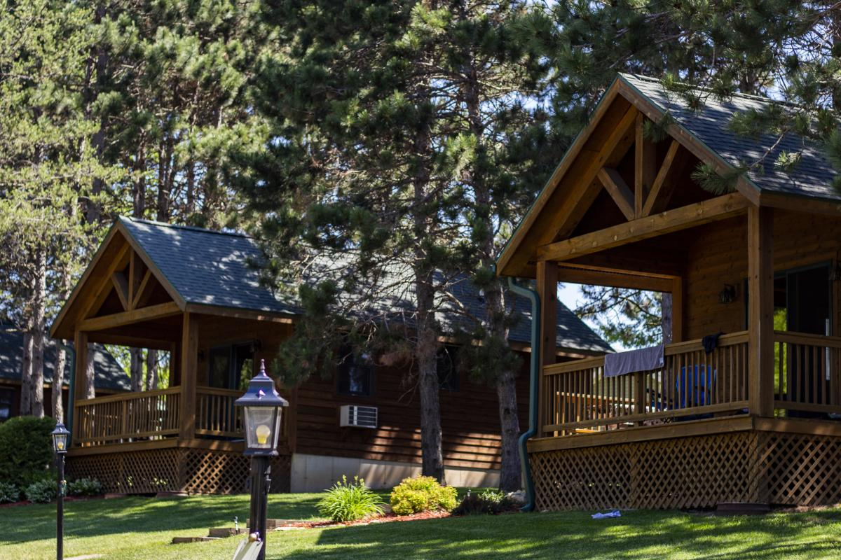 Cabins at Stoney Creek Resort in Osseo, WI
