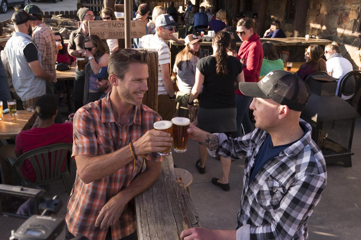 Beer guys patio