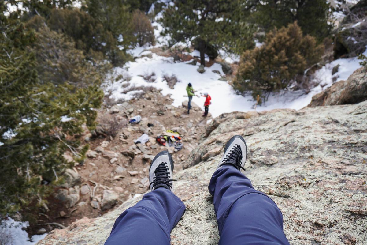 Brody Leven Rock Climbing