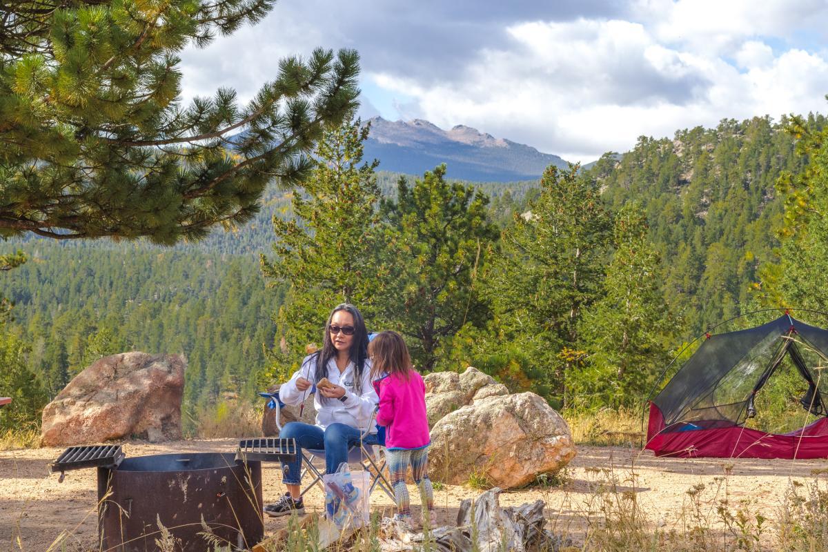 camp hermit