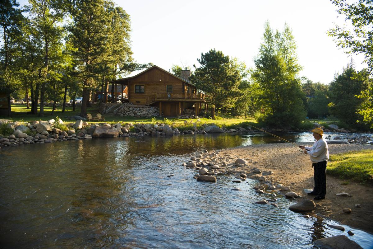 Step Outside Your Cabin Door For World Class Fishing!