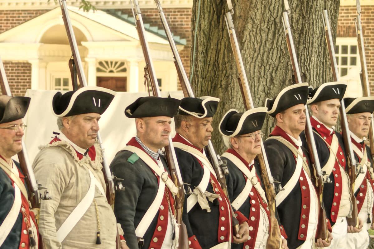 Revolutionary War Weekend at Gunston Hall