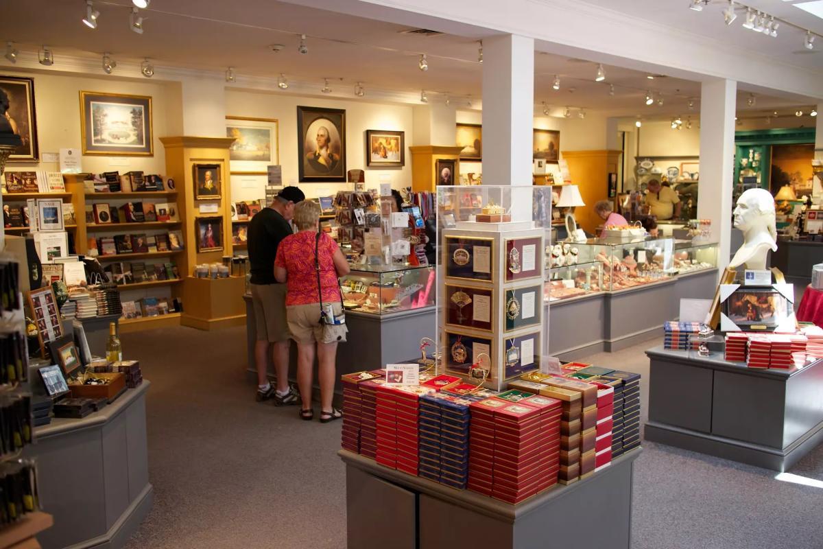 Mount Vernon gift shop