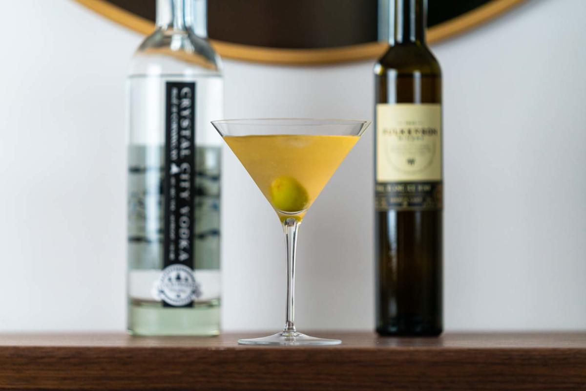 FLX winter Ice Wine Martini