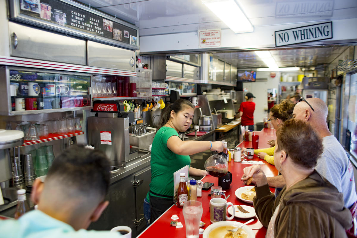 Cindy's Diner - Interior - Fort Wayne, Indiana