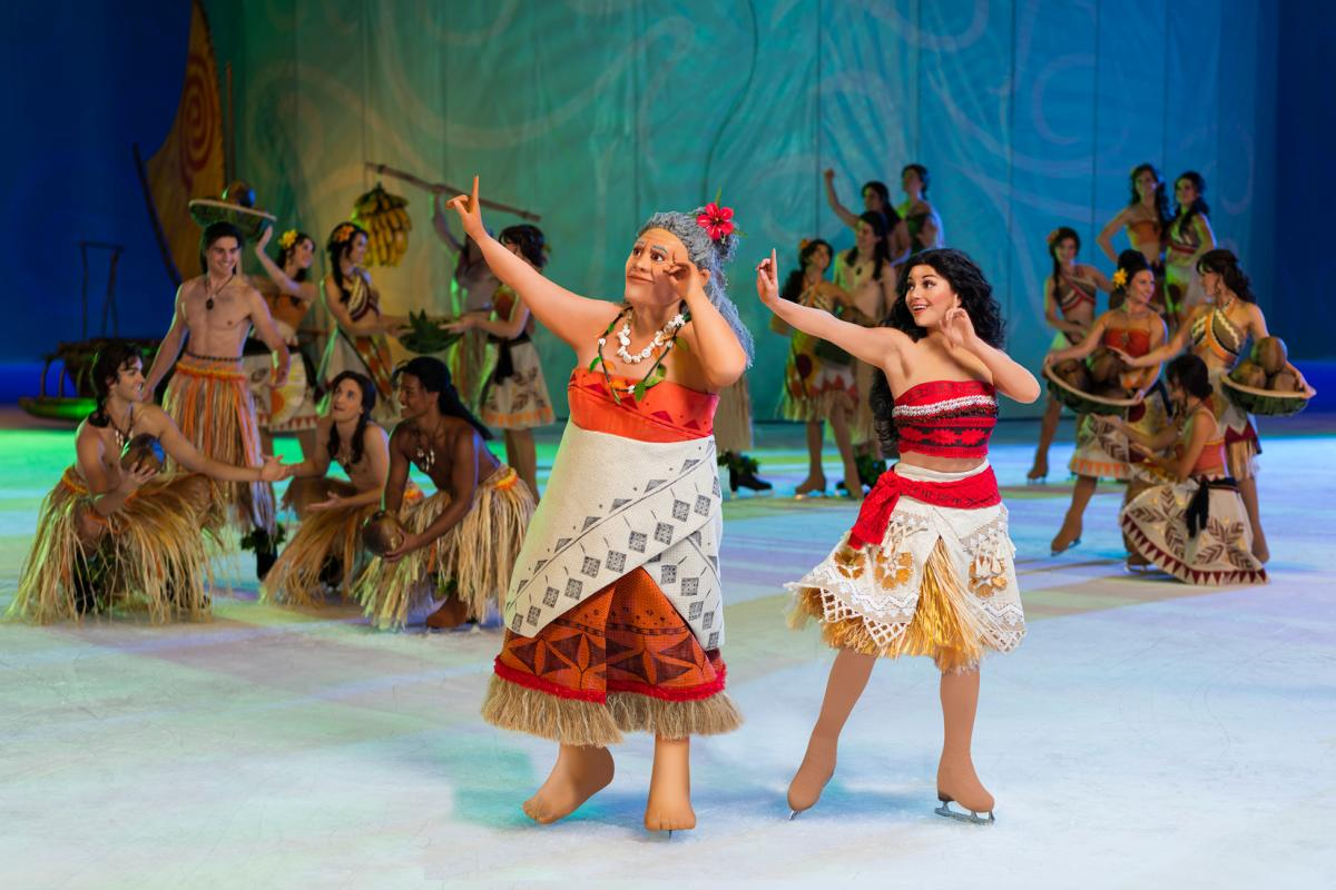 Characters in Disney on Ice: Dream Big coming to the Memorial Coliseum