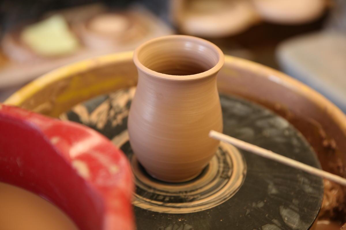 Pottery in Gatlinburg