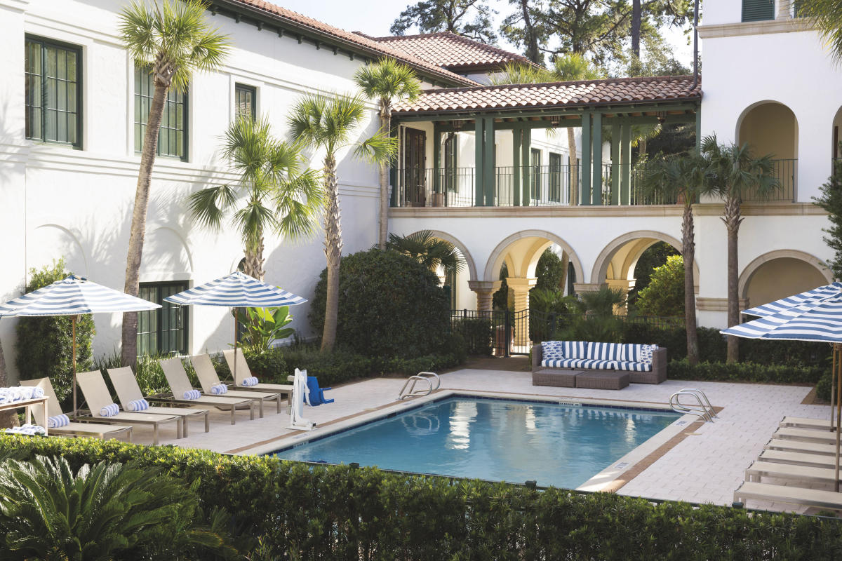 The Inn at Sea Island, although located on St. Simons Island, provides guests access to Sea Island's amenities and award-winning service.