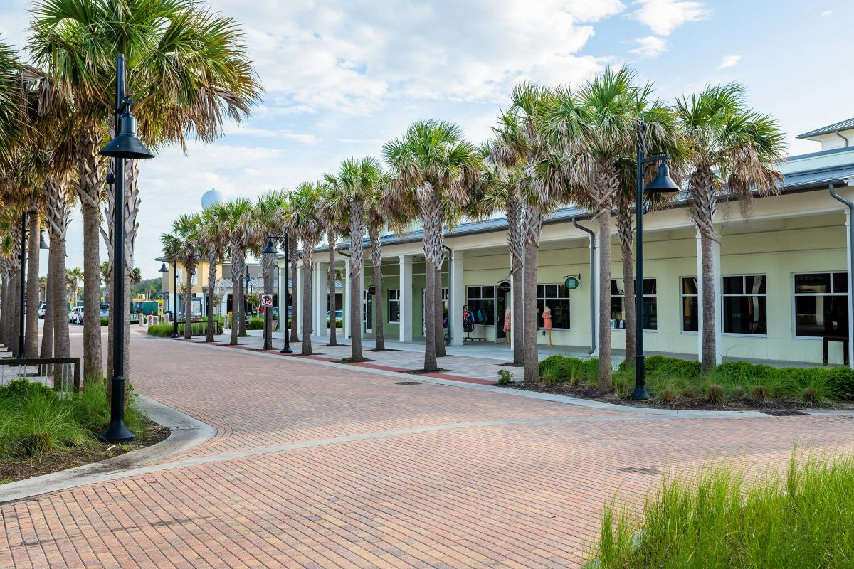 Jekyll Island's Beach Village is home to several boutiques and specialty shops on Jekyll Island
