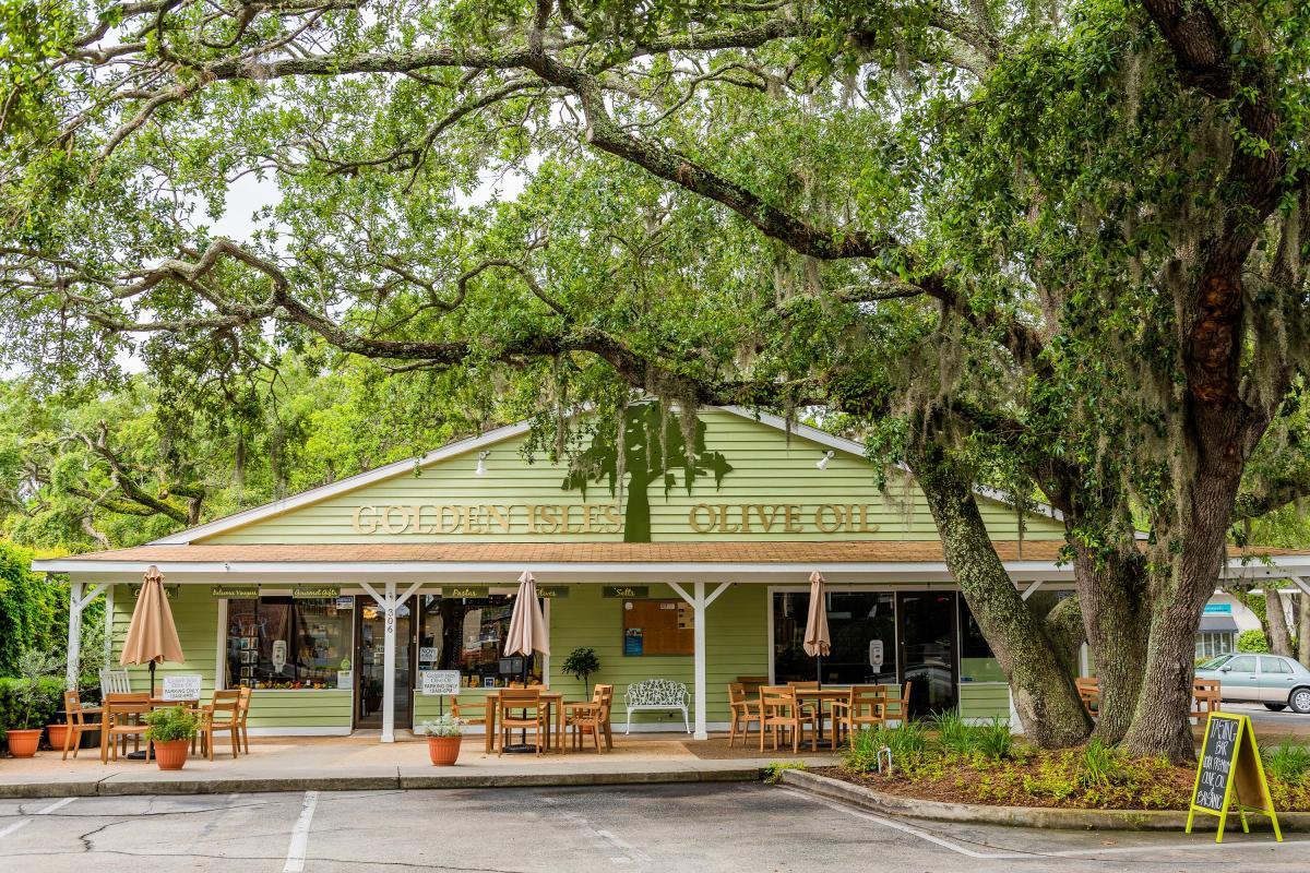 Golden Isles Olive Oil Storefront