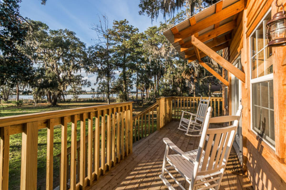 Captain's Bluff is an 18-acre private vacation rental located on St. Simons Island, GA