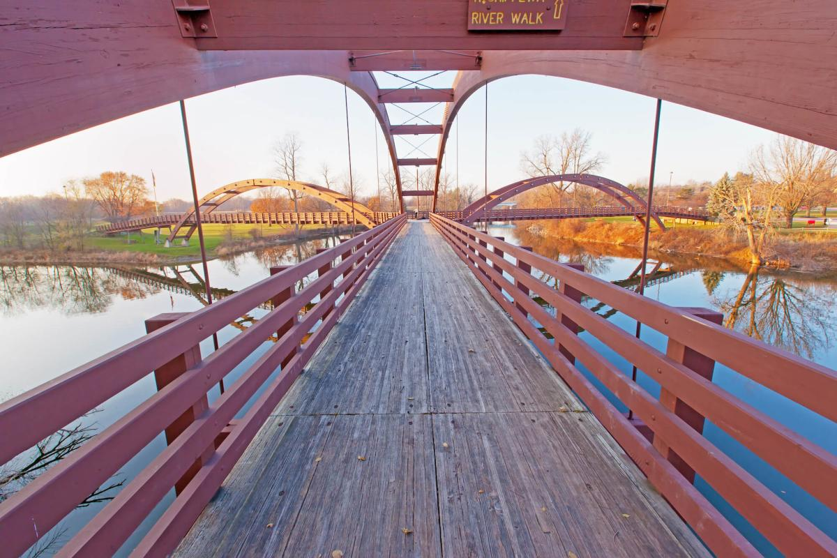 The Tridge in Midland, MI