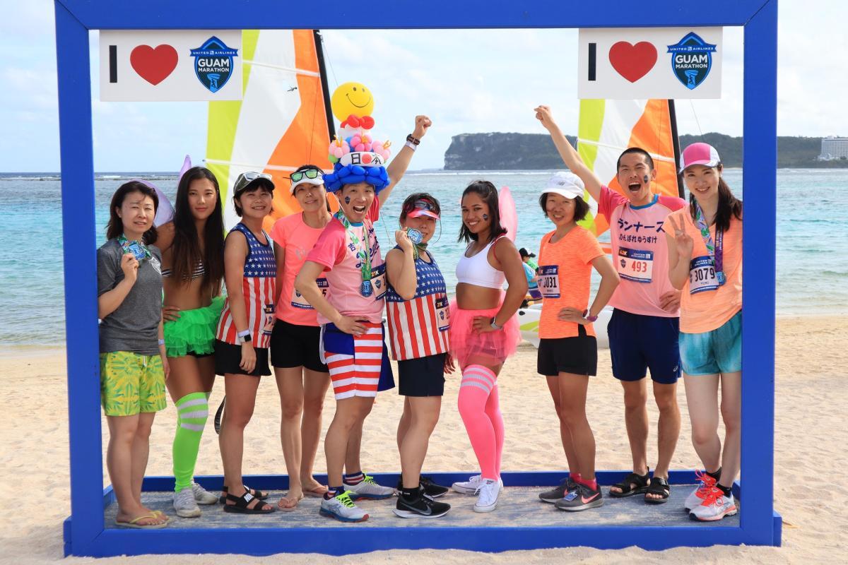 賽後海邊派對 與世界各地跑者同歡享受完賽榮耀
