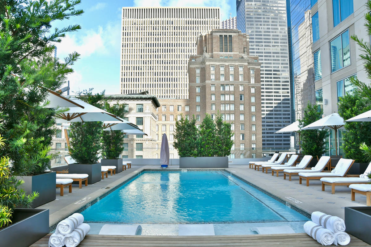 Hotel Alessandra Rooftop Pool