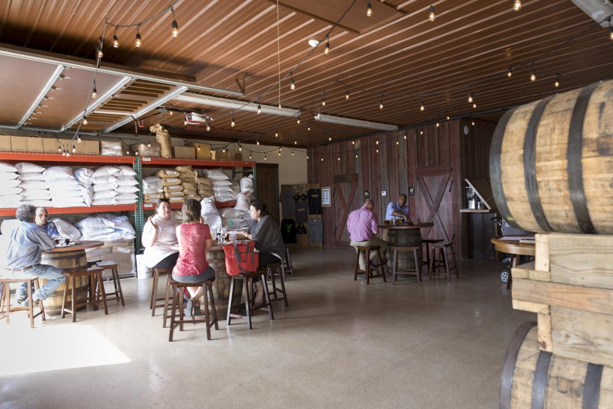 Manor Hill Brewery Tasting Room